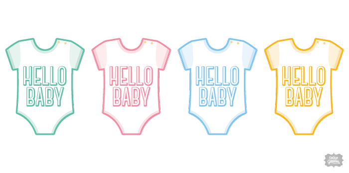 Hello Baby 01(ロンパース)