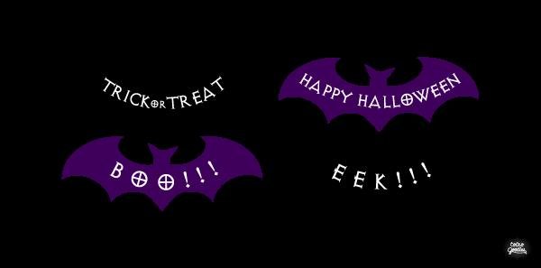 Halloween 02(コウモリ)
